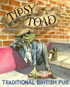 The Tipsy Toad logo